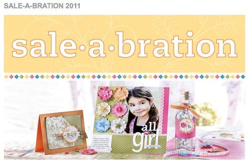 Sale-A-Bration, FREE product with qualifying purchase!