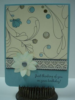 Stampin' Up! Card Idea- Elegant Soiree
