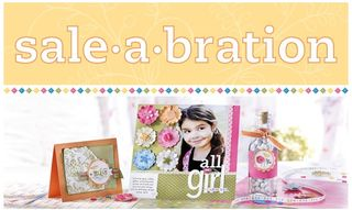 Stampin' Up! Fun Sale-A-Bration