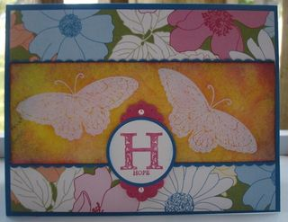 Stampin' Up! Card Idea- Strength and Hope