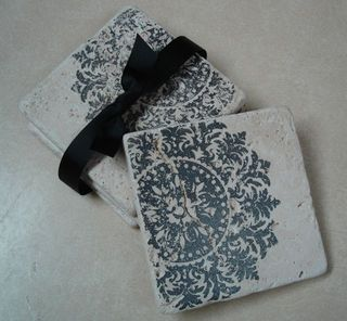 Stampin' Up! Gift Idea-Tile Coasters