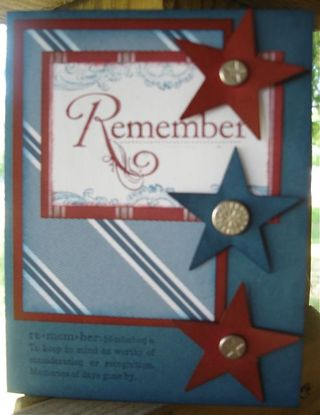 Stampin' Up! Card Idea- Nautical Expeditions Designer Paper