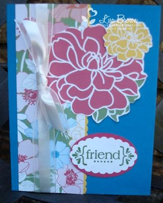 Stampin' Up! Card Idea -Fabulous Florets