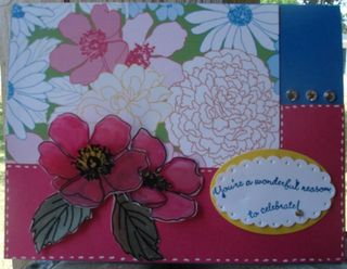 Stampin' Up! Card Idea- Fabulous Florets
