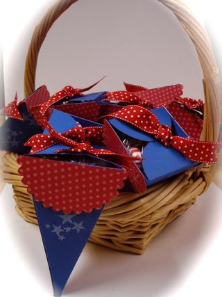 Fourth of July Petal Cones