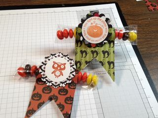 Stampin' Up! easy Halloween treat