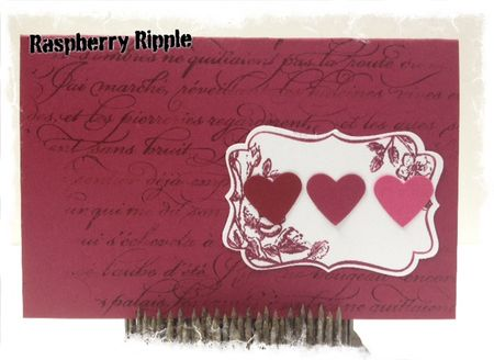 Stampin up 2012 2014 In Colors Raspberry Ripple