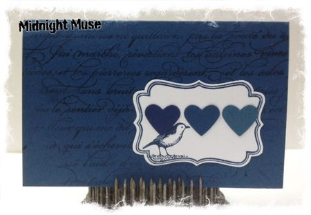 Stampin up 2012 2014 In Colors Midnight Muse