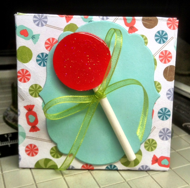 Easy birthday party favor stampin up tutorial sweet shop