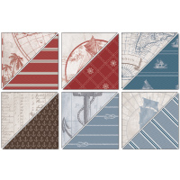 Stampin up nautical expeditions designer paper masculine cards 122343