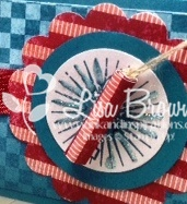 Stampin up blue ribbon fourth of july treat idea video tutorial