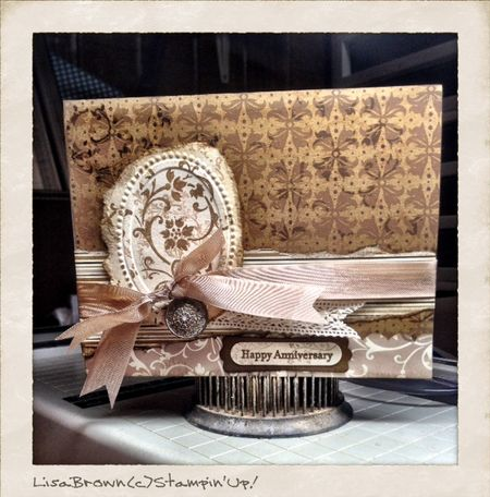 Stampin up anniversary elements of style