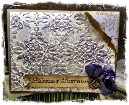 Stampin up vintage vogue medallion birthday cards ink and stampin up birthday card vintage vogue medallion bookmarktalkfo Gallery