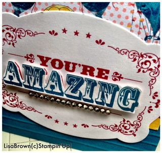 Stampin up you're amazing video tutorial