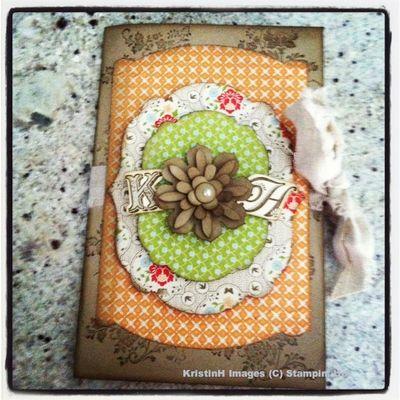KristinH stampin up journal