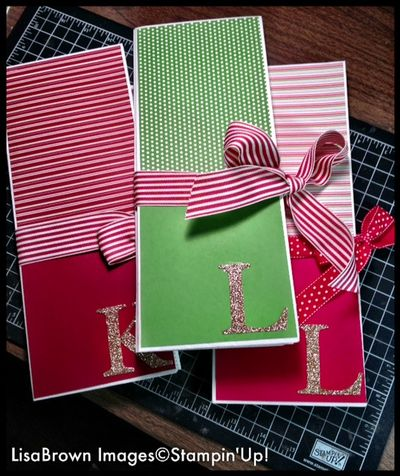 Stampin up holiday planner