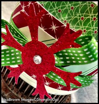stampin up christmas candle holder details