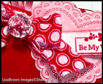 Stampin\' Up! My Little Valentine Petite Purse -Reversed! - ink and ...
