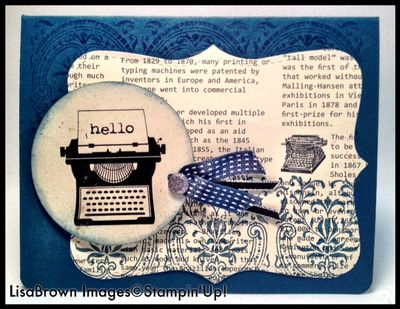 Stampin up masculine card midnight muse