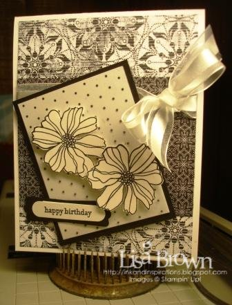 stampin up birthday card world card making day