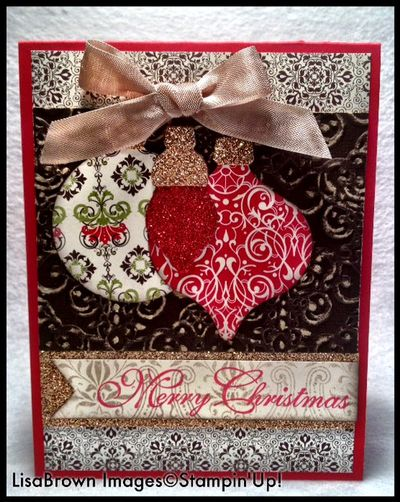 Stampin Up Holiday Ornament Framelits