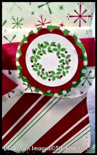stampin up jolly bingo bits christmas easy project