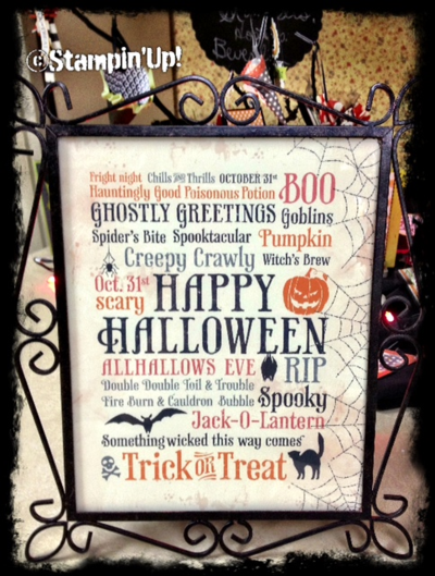 Stampin up My Digital Studio Halloween