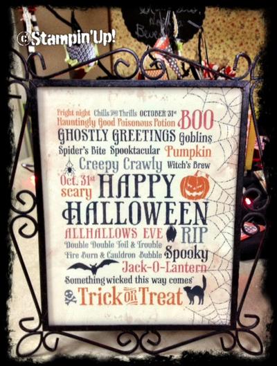 Stampin up My Digital Studio Halloween