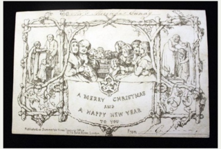 Stampin 39 up video tutorial with lovely as a tree for for Who commissioned the first christmas card in 1843