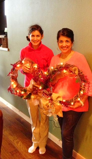 Lin-wreaths