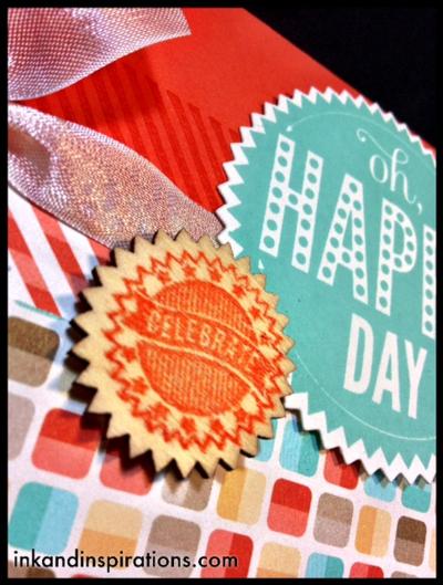 Stampin up card idea video tutorial starburst sayings birthday