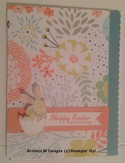 Stampin Up Easter Cards Guest Designer Kristen M ink and – Easter Cards Stampin Up