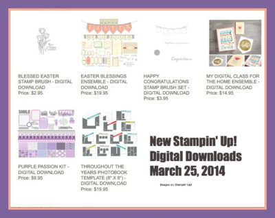 New digital downloads stampin up my digital studio lisa brown