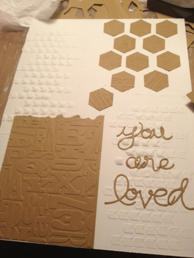 Stampin up mixed medoa