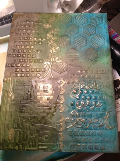 Stampin' Up! Mixed Media Cover