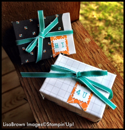 Project life by stampin up box 1