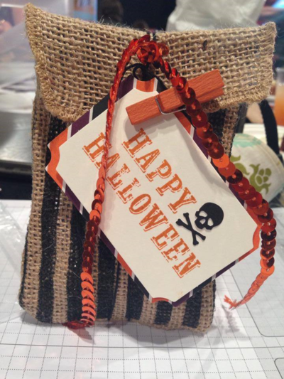 Stampin up september paper pumpkin
