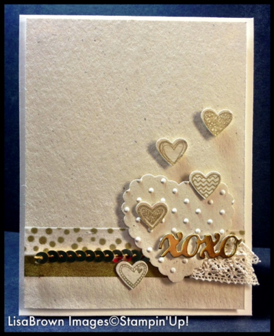 stampin up language of love card idea - Stampin Up Valentine Card Ideas