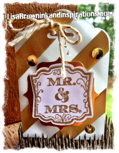Stampin-up-metallic-wedding favor