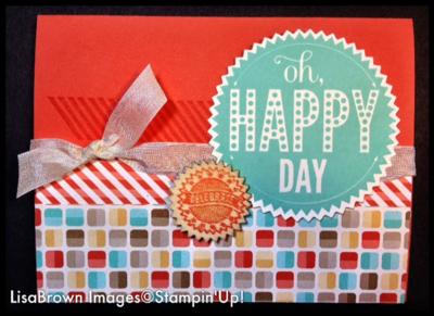Starburst sayings birthday card stampin up