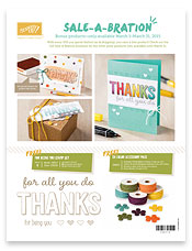 new saleabration from stampin up