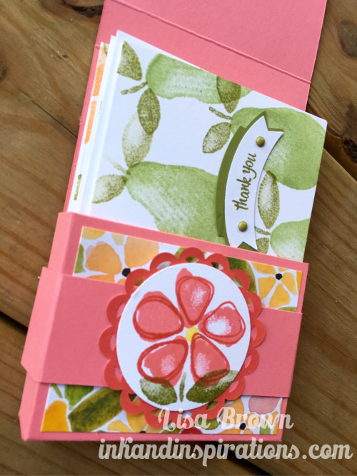 Fresh-fruit-note-cards-gift-stampin-up-video-lisa-brown
