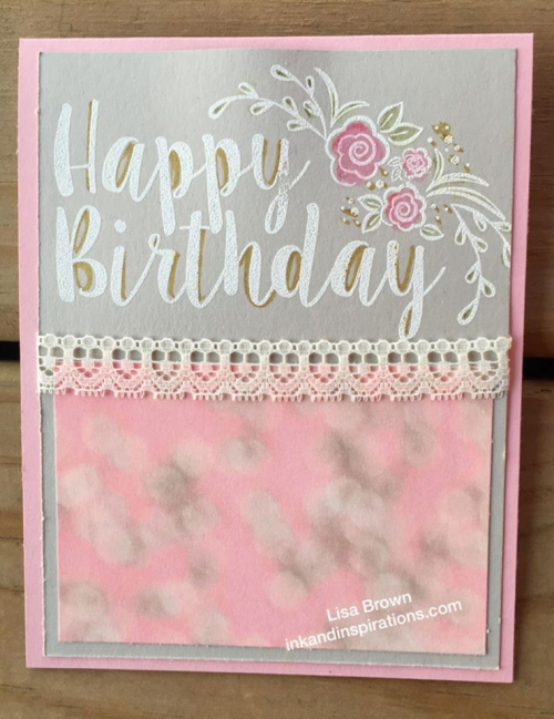Make a Bold and Lovely Birthday Card