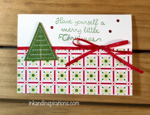 Stampin Up 2017 Christmas Card Ideas Video Tutorial 3 Ink And Inspirations