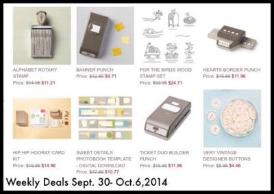 Weekly deals 9-30