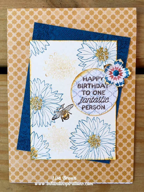 Stampin up birthday card touches of texture video tutorial