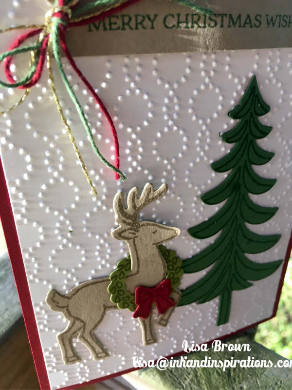 2016 Stampin\' Up! Christmas Card Series and Video #1 - ink and ...