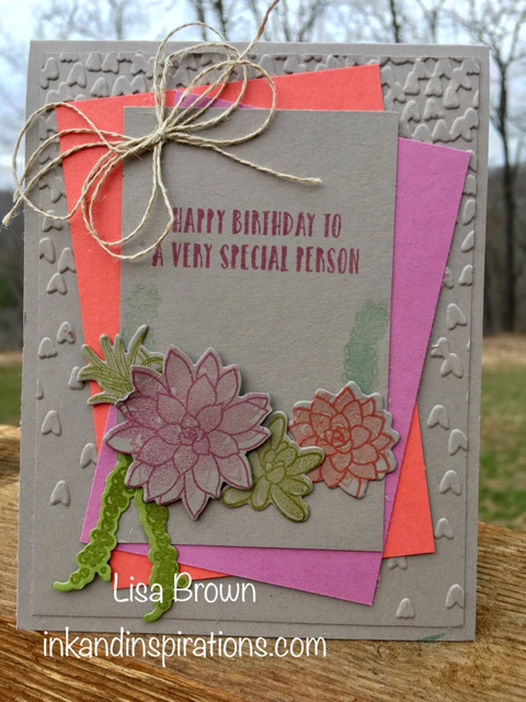 Makeover Monday Video Tutorial Making A Special Birthday Card Ink