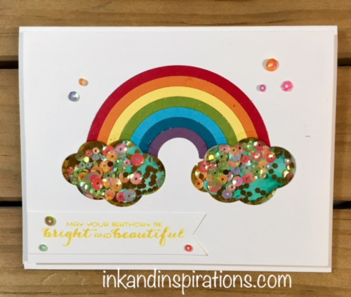 Sunshine-rainbows-shaker-card-1