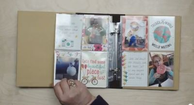 Stampin-up-project-life-lets-get-away